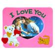 Перейти на страницу товара  Фоторамка резиновая с магнитом 002 5*7 I Love You