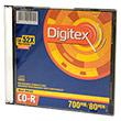 Перейти на страницу товара  Digitex CD-R 80 52x Slim