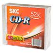 Перейти на страницу товара  SKC CD-R 80 52x Super Slim (10/240)