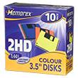 Перейти на страницу товара Дискета Memorex 1,44 картон color