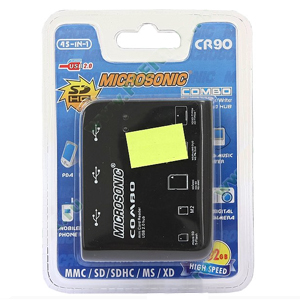 Перейти на страницу товара  Microsonic Microsonic Reader 45-in-1 CR90 (черный)